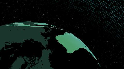 Earth CG 18 F4D 4k CG動画