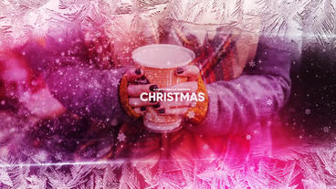 Merry Christmas Opener Slideshow After Effects Template
