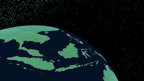 Earth CG 18 F3B 4k CG動画