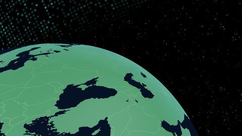 Earth CG 18 F1B 4k CG動画