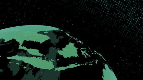 Earth CG 18 F3D 4k CG動画