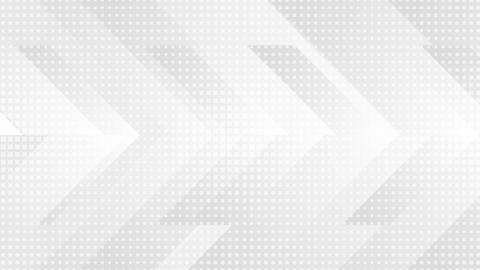 Grey and white tech arrows motion background Animation