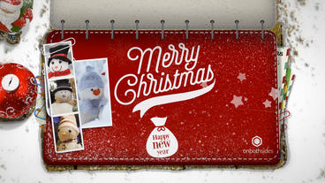 Christmas Booklet After Effects Template