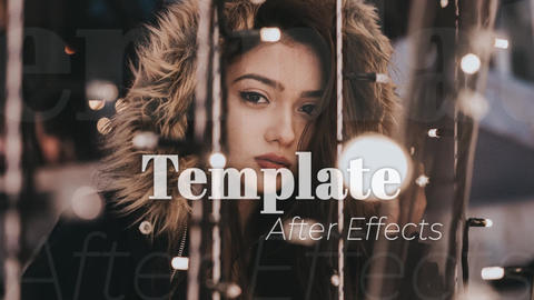Simple Intro Promo After Effects Template