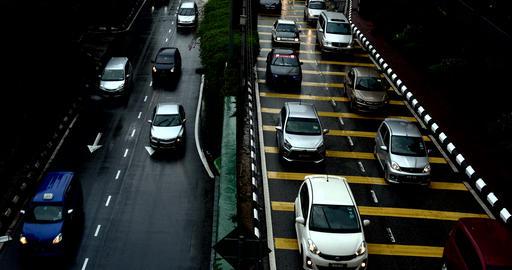 Kuala-Lumpur-Road-Traffic Footage