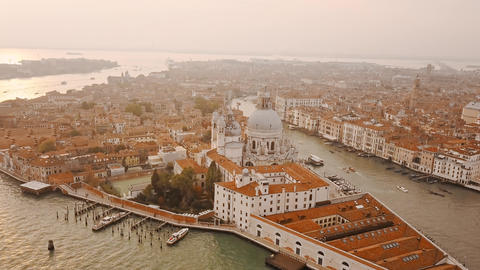 Aerial view of Venice Italy ビデオ