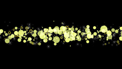 Yellow Bubbles Animation