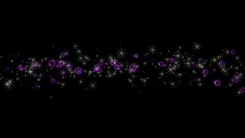 Purple twinkle Animation