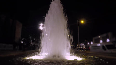 Fountain In The Night Live Action