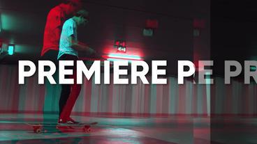 Fast Glitch Opener Premiere Pro Template