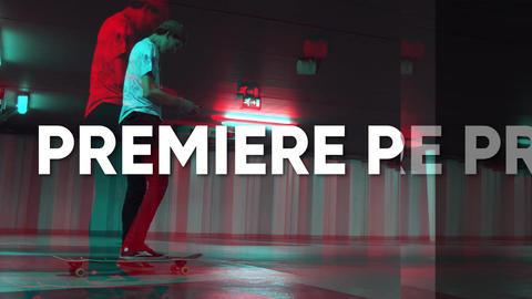 Fast Glitch Opener Premiere Proテンプレート