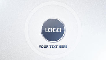 Glass Circles Logo Reveal After Effects Template