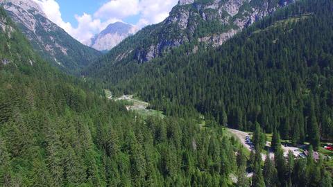 1004072 Mountain Landscape DJI 0138 3 stock footage