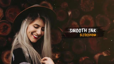 Smooth Ink - Slideshow After Effects Template