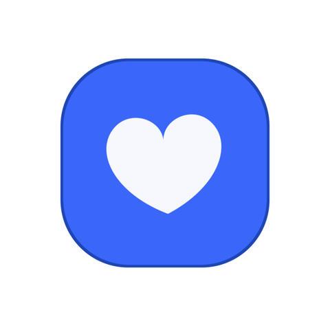 Heart icon animation