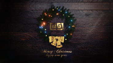 Merry Christmas Intro (Two versions) Plantilla de After Effects
