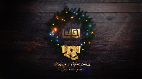 Merry Christmas Intro (Two versions) After Effects Template