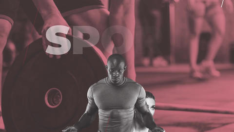Fitness Sport Club Promo After Effects Template