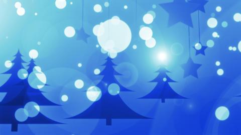 Blue Christmas - 4k 4k Stylish Christmas Video Background… Stock Video Footage