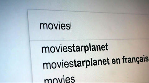 Searching Movies on Internet Footage