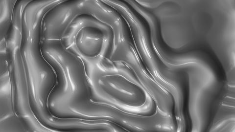 Metal Flow 1 - 4k Metallic Organic Fluid Video Background... Stock Video Footage