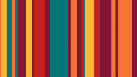 Multicolor Stripes 26 - 4k Cozy Color Stripes Video Background Loop Animation
