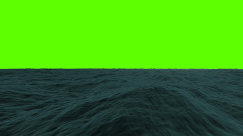 Traveling in the Sea on a Green Screen Live Action