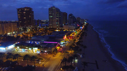1011020 Fort Lauderdale at sunset DJI 0061 Footage