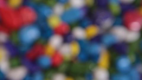 Colour stones Footage