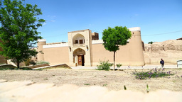 In iran antique palace and caravanserai 001 Footage