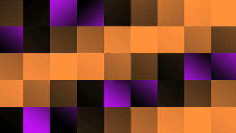 Square VJ Loop PhotoJPG for Vjing color Orange Animation