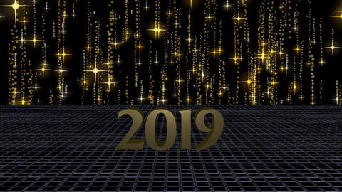 2019 Happy New Year, HD Video Stock Video Footage