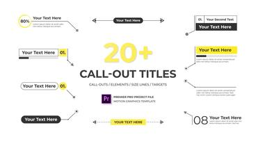 Call Out Titles - Essential Graphics Motion Graphics Template