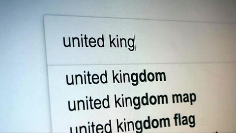 Searching United Kingdom on Internet Live Action