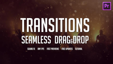 Action Seamless Transitions Pack Premiere Pro Template