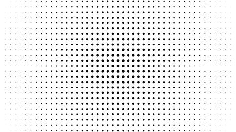 Abstract Black and White Dots フォト