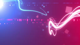 Crossing trajectory of light _ blue _ magenta Animation