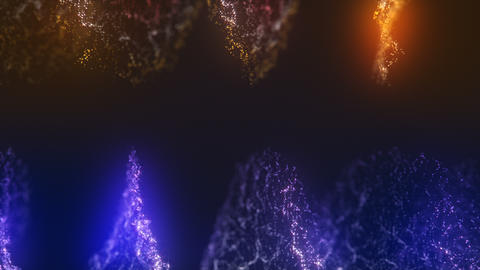 Abstract particles celebration v3 Animation