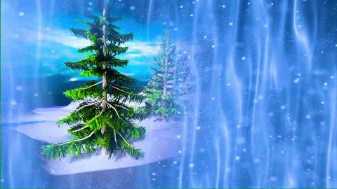 Christmas tree background 2 Animation