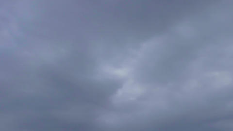 Layers of Clouds Fast Timelapse Footage