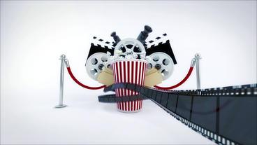 Cinema Movie Logo Reveal Premiere Proテンプレート