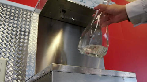Water Glass Live Action