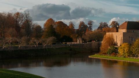 Leeds Castle, Kent, England, UK GIF