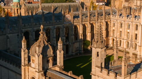 All Souls College, Oxford University, England, UK Footage