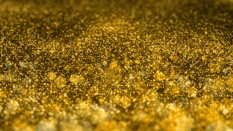 Shiny golden glitter Christmas VJ seamless loop abstract motion background Animation