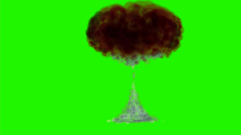 Bomb Explosion Watercolor 2D Animation Animation