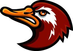 Laysan Duck Head Mascot ベクター