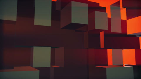 3D Blocks Stock Video Footage