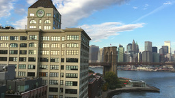 Lower Manhattan panorama, New York Footage