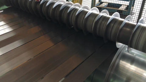 Metalworking industry. cutting tool processing steel Live Action